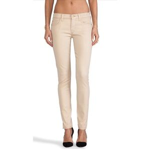 7 for all mankind the Skinny in Sand Iridescent 32